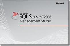 SQL Server 2008 Managment Studio Logo